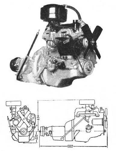 Двигатель ГАЗ-21(ГАЗ-21Е)